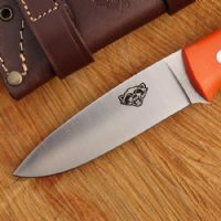 TBS Wolverine Field Knife - Orange G10 - Standard Sheath